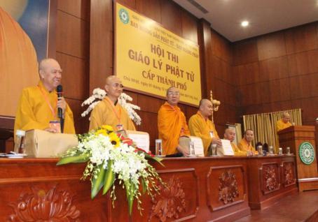 TP.HCM: Gần 3.000 Phật tử dự Hội thi Giáo lý cấp Thành phố